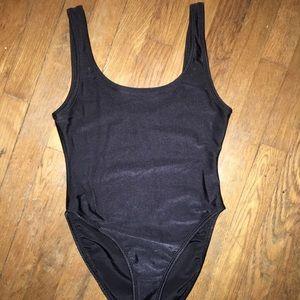 Beautiful 80's bathing suit/bodysuit